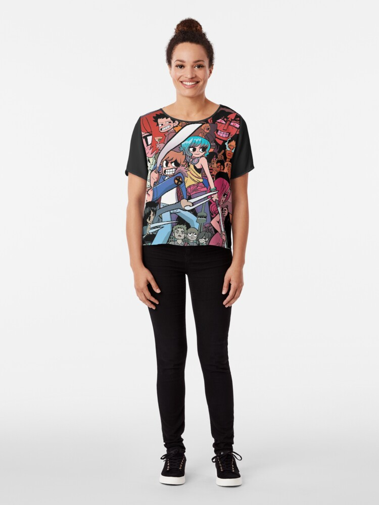 Alternate view of Vs the World, Universe and more! Chiffon Top