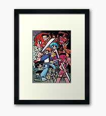 Vs the World, Universe and more! Framed Print