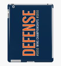 DEFENSE Wins Championships #SB50 iPad Case/Skin