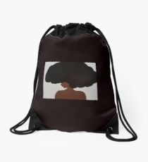 Afro Love II Drawstring Bag