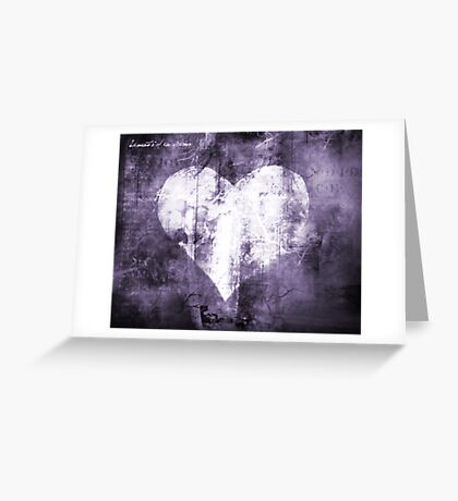 Cold Heart Greeting Card