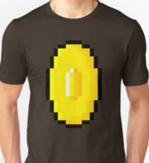 Pixel art golden coin  Unisex T-Shirt