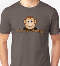 M for monkey 2 Unisex T-Shirt