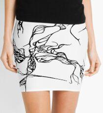 Black spots Mini Skirt