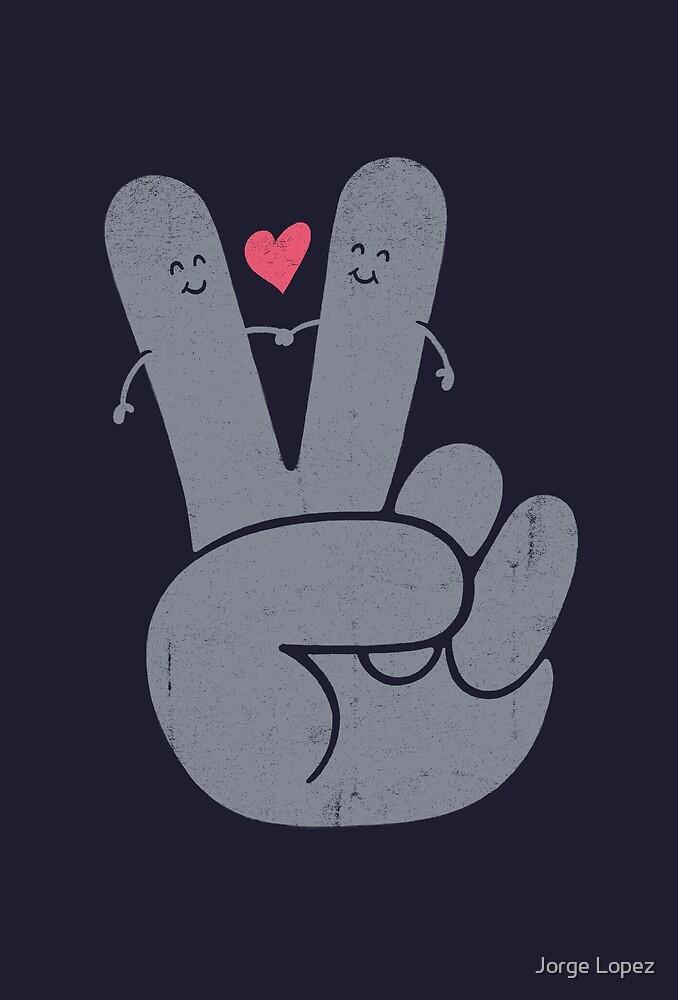 Peace & Love by Jorge Lopez
