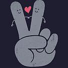 Frieden Liebe von Jorge Lopez