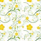 Blumen Design von Frank Reubsaet