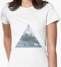 The Calm Before the Storm Women's Fitted T-Shirt