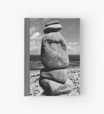 Pebble Stack Hardcover Journal