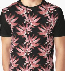 Watercolor black pattern Graphic T-Shirt
