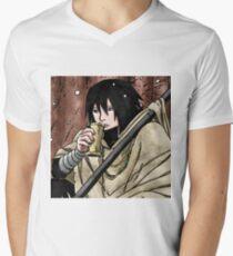 Sasuke GodNinja Mens V-Neck T-Shirt