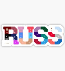 Russ Diemon Album Covers  Sticker