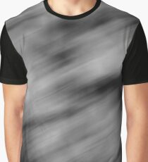 Abstract Blur Graphic T-Shirt