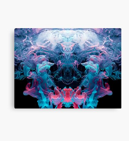 Alien Emperor Canvas Print