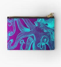 Blue & Purple Octopus Studio Pouch