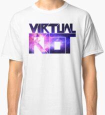 Virtual Riot Logo Space Classic T-Shirt