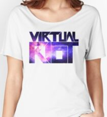 Virtual Riot Logo Space Women's Relaxed Fit T-Shirt