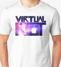 Virtual Riot Logo Space Unisex T-Shirt