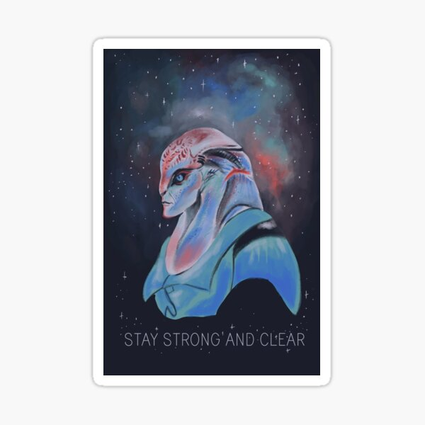 Stay Strong and Clear- Jaal Sticker