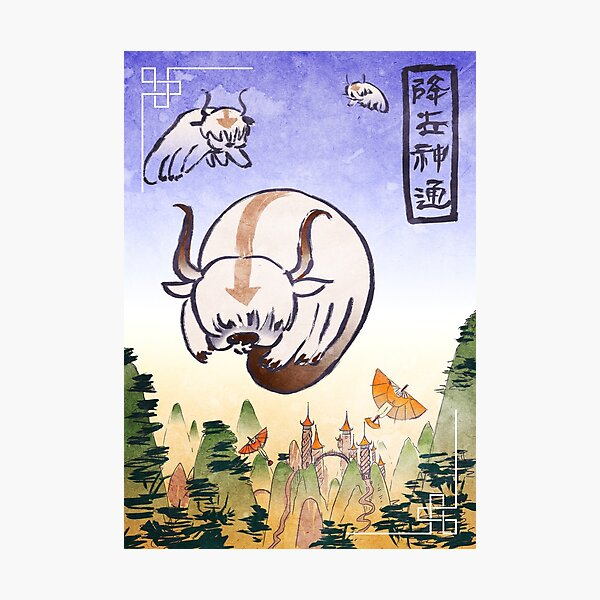 Appa- the last airbender Photographic Print