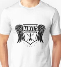 Daryl Dixon Motorcycles TWD Unisex T-Shirt