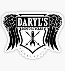 Daryl Dixon Motorcycles TWD Sticker
