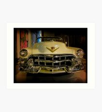 50´s Cadillac Art Print