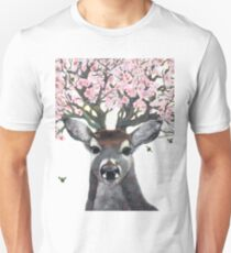 Apple Blossom Deer Hooves With Da Fur Cutaway Unisex T-Shirt