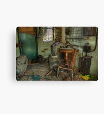 Projection Booth Canvas Print