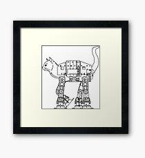 Star Wars - Cat-Cat Imperal Walker Framed Print