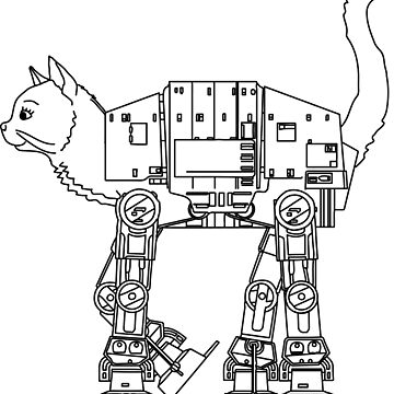 Star Wars - Cat-Cat Imperal Walker by krimons