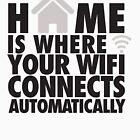 «El hogar es donde su WIFI se conecta automáticamente» de nektarinchen