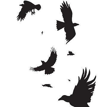 A Murder of Crows by omnibob8