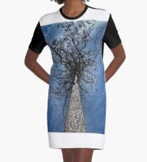 A tree of Abstracts Graphic T-Shirt Dress
