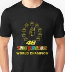 Nine World Champion Valentino Rossi T-Shirt