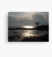 Sunshine on Tateishi Beach Canvas Print