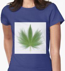 Pot Leaf Overlay T-Shirt