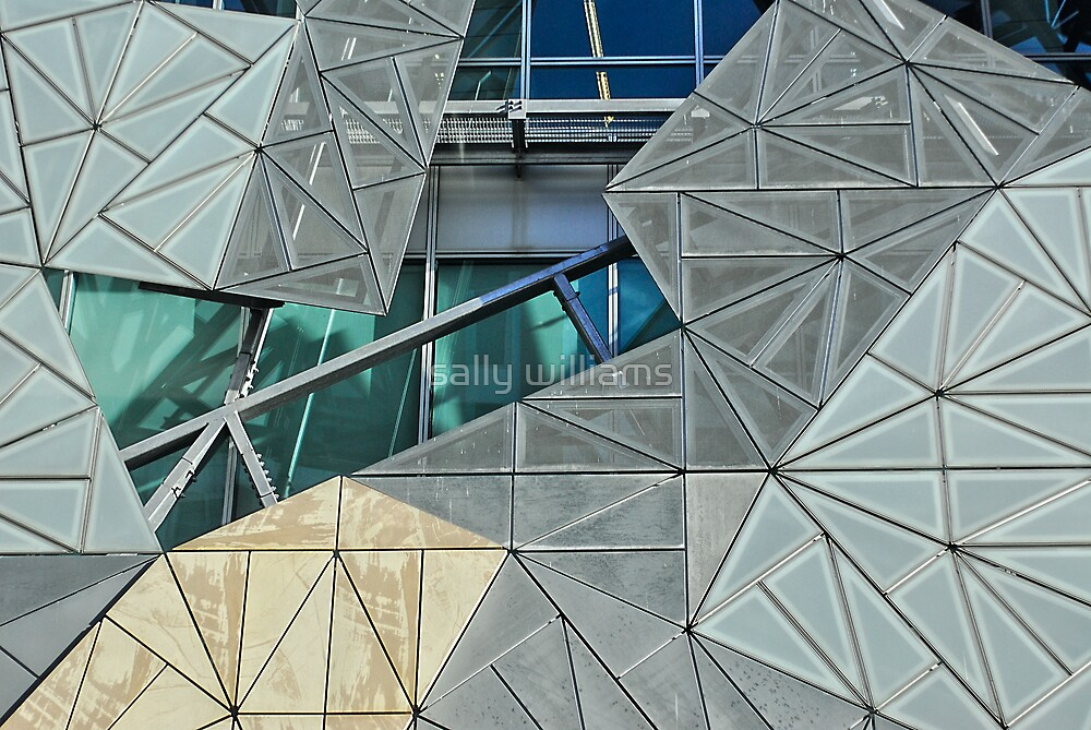 Fed Square by sally williams