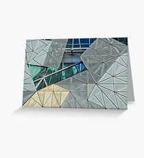 Fed Square Greeting Card