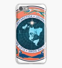 Flat Earth Designs - Antarctica Journey to the Edge of the Dome 2017 iPhone Case/Skin