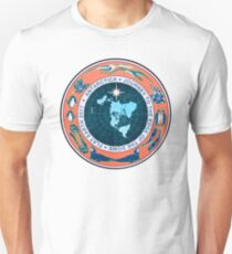 Flat Earth Designs - Antarctica Journey to the Edge of the Dome 2017 Unisex T-Shirt