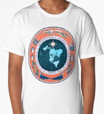 Flat Earth Designs - Antarctica Journey to the Edge of the Dome 2017 Long T-Shirt