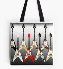 Flying V Attack Tote Bag
