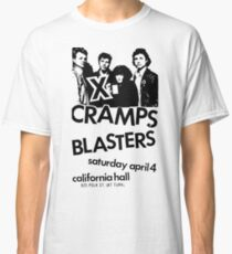 the Blasters Cramps X show flyer t shirt Classic T-Shirt