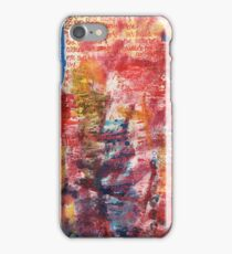 Art should comfort iPhone Case/Skin