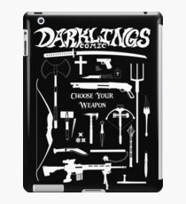 Choose Your Weapon - White iPad Case/Skin