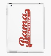 Bama Plaid Roll Tide Roll iPad Case/Skin