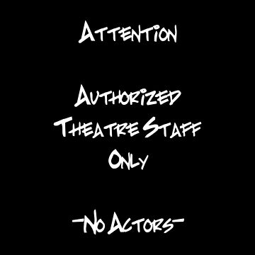 Theater Staff D by Veraukoion