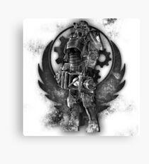 The Brotherhood of Steel Canvas Print