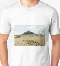 Walking To St Michael's Mount Unisex T-Shirt